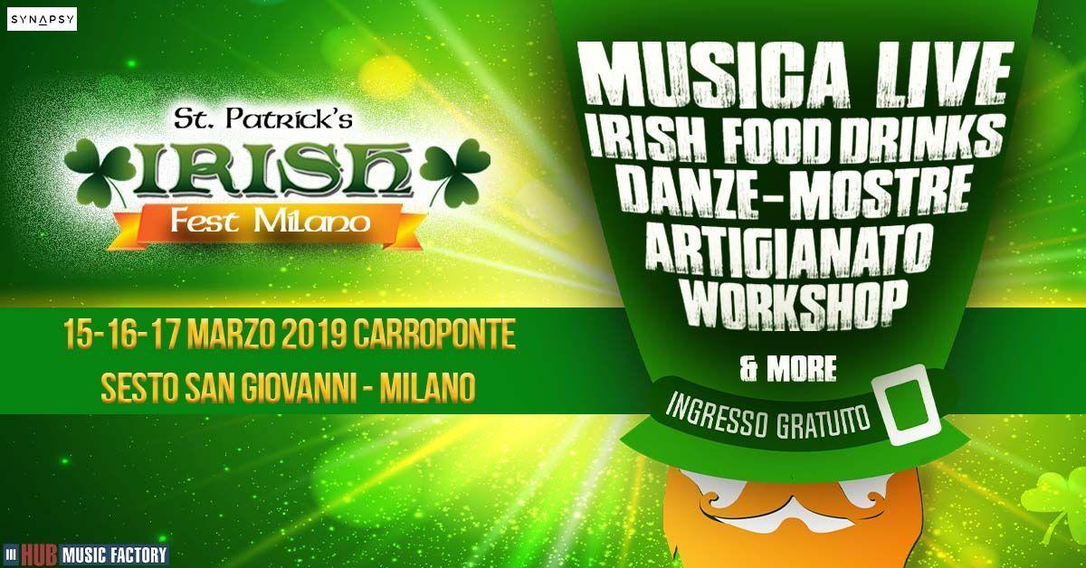 Irish Fest Milano 2019, Carroponte, grafica